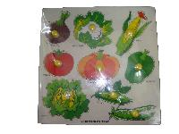 Wooden Vegetable Tray