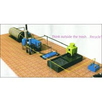 Scrap tyres and Plastic to Fuels plant