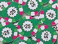 Poker Chips Milk Chocolate