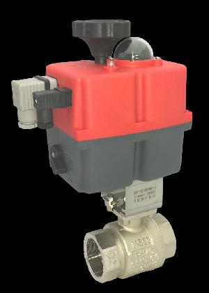 Electric WRAS Approved Brass Ball Valve