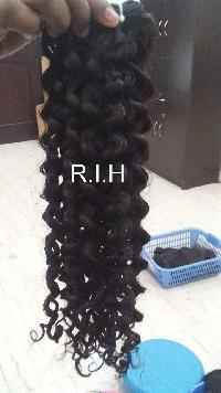 7A 100% unprocessed 100% virgin human hair raw indian hair