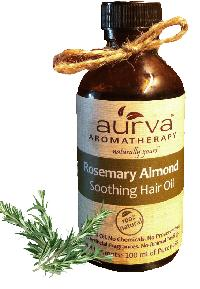 Aurva Rosemary Almond Soothing Hair Oil