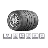 Nexen Car Tyre (cp672)