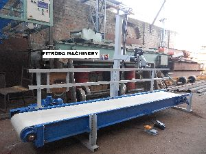 Packing Belt Conveyor & Stitching Machine
