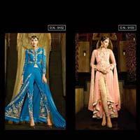 Aafreen-adaa2-designer Fancy Georgette With Embroidry Work Salawar