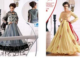 Heavy Designer Embroidery Anarkali Suit