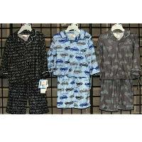 Boys Infant Coat Style Flannel Pajama