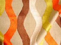 Clarence House Cut Velvet Wavy Stripes