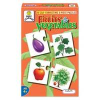 Fruits And Vegetables Puzzles