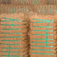 Coconut Coir Fiber Bales