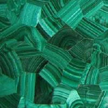 malachite floor tiles