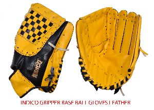 Indico Gripper Baseball Leather Gloves