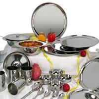 Stainless Steel Dinner Set-24 Pcs