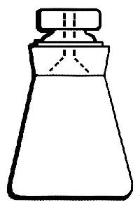 Specific Gravity Bottle, Hubbard, Conical