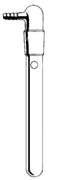 Vacuum connection tube