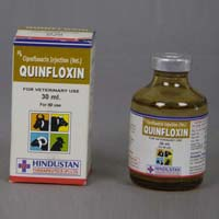 Quinfloxin Injection