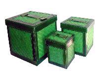 Bamboo Storage Boxes