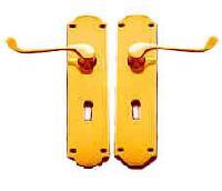 Brass Traditional Door Handle