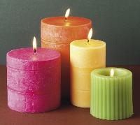 Organic Aromatic Candles