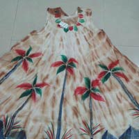 Palm Tree Umbrella Dress