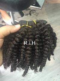 Virgin Remy Human Hair Curly Hair
