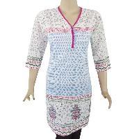 Knitted Printed Cotton Kurtis