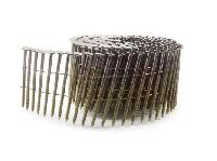 ring shank colleted coil nail
