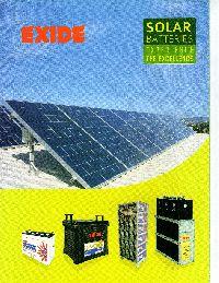 Exide Solar Batteries 1