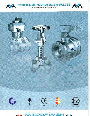 Micro Finish Industrial Valves