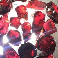 Rough Garnet Gemstone