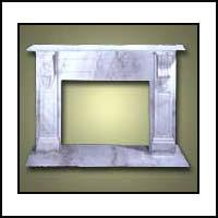 Stone Fireplace - (sf-7)