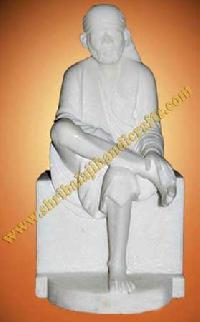 Sai Baba Marble Statue (605)