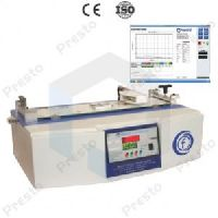 Co-Efficient friction tester