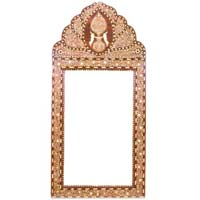 Bone Inlay Mirror Frames
