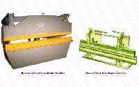 Sheet Press Brake Machines