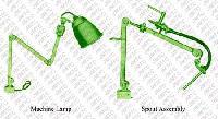 Spout Assembly & Machine Lamp