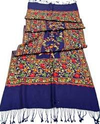 Hand Embroidered Woolen Shawl