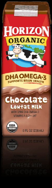 Dha Omega-3 Lowfat Chocolate Milk Box