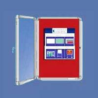 Covered Notice Boards