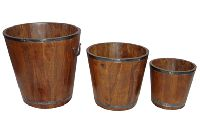 Wooden Decorative Planters