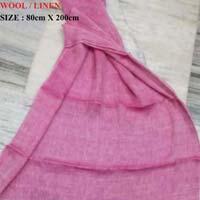 Wool Linen Scarves