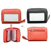 Leather Multi Card Holder Wallet