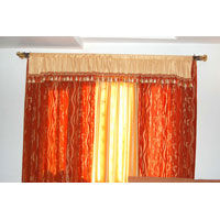 Curtains With Boxplate Frill