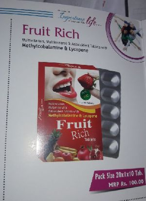 Fruit Rich Tablets