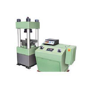 Electronic Four Column Compression Testing Machine