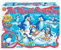 The Royal Penguins clay