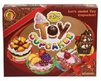 Toy Cupcakes clay