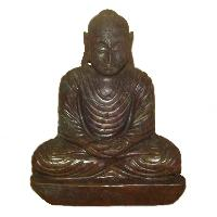 Gemstone Meditation Buddha Statue