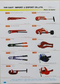 types of wrenches. pipe wrench, cutter types of wrenches d