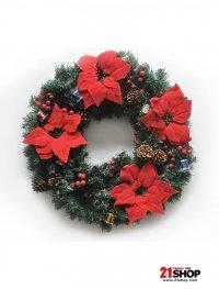Artificial Spruce Decorative Christmas Wreath